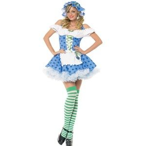 NWT Leg Avenue Halloween Blueberry Girl